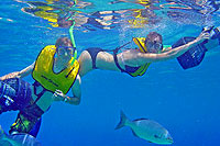 Cozumel Power Snorkeling