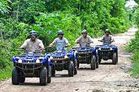 Jungle ATV Tour Cozumel