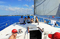 Private Catamaran Charter Cozumel