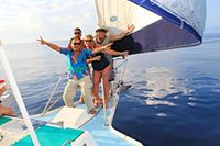 Sailing Catamaran Cozumel