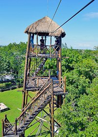 Canopy & Horseback Riding Tour Cozumel