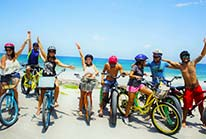 Cozumel Beach Electric Bike Tour