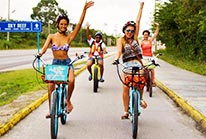 Bike and Snorkel Tour in Cozumel