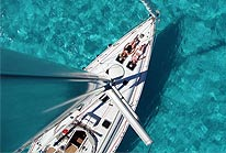 Cozumel Sailboat Excursion Aerial View