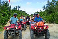 ATV Tour in Cozumel