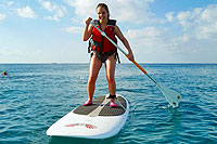 SUP Paddle Boarding Cozumel Mexico
