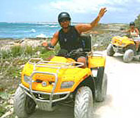 Beach ATV Tour in Cozumel Mexico