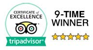 TripAdvisor Badge Cozumel Tours
